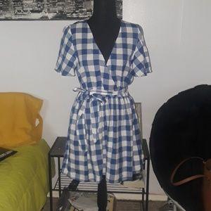 ASOS Gingham dress! Super cute!